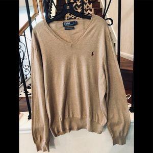 Tan Polo Sweater